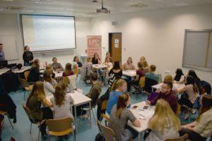Neformální setkání studentů Cestovního ruchu