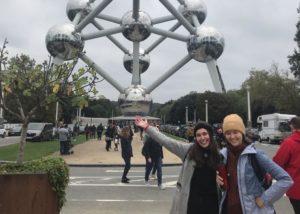 Erasmus v belgickém městě Gent